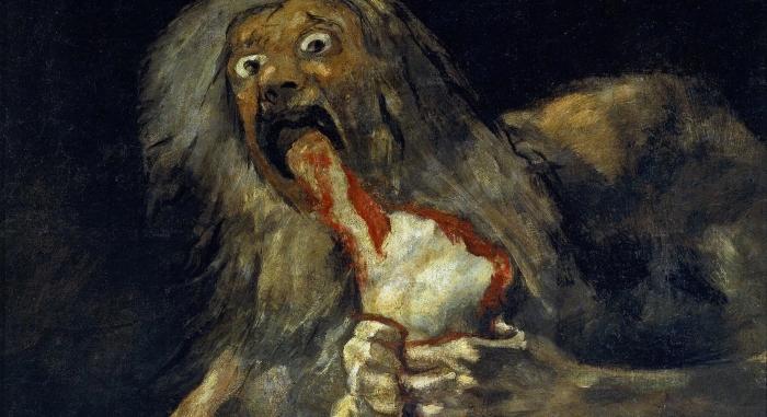 Saturno devorando um Filho, Francisco Goya
